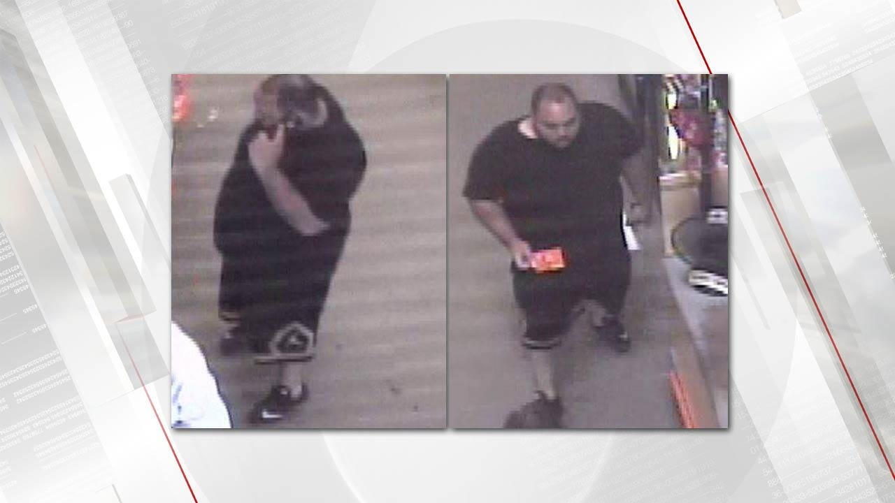 Tulsa Police Seek Man In Connection To Stolen Credit Card