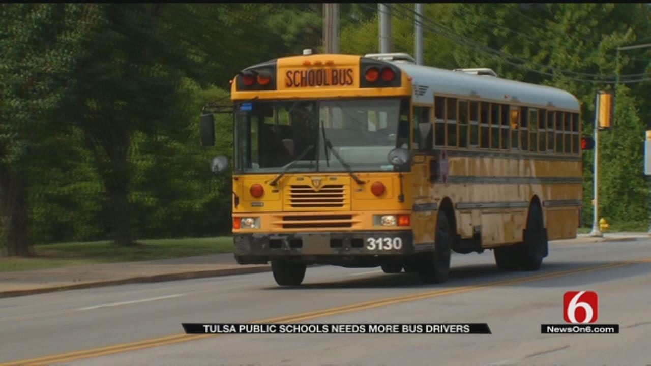 Tulsa Public Schools Needs More Bus Drivers