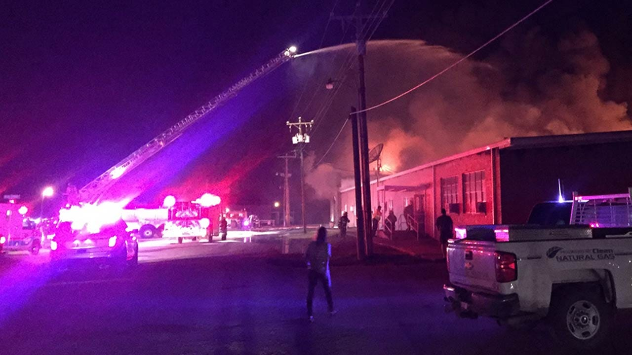 Classes Canceled After Fire Damages LeFlore County High School