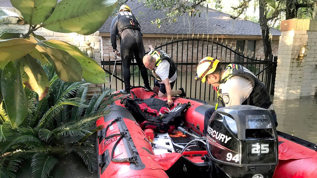 Grand River Dam Authority Continues Rescue Efforts In Texas