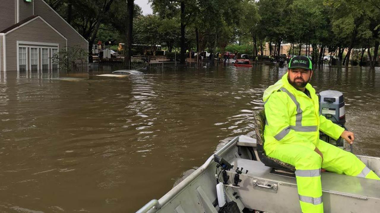 Oklahoma Emergency Responders, Volunteers Continue Harvey Relief Efforts Houston