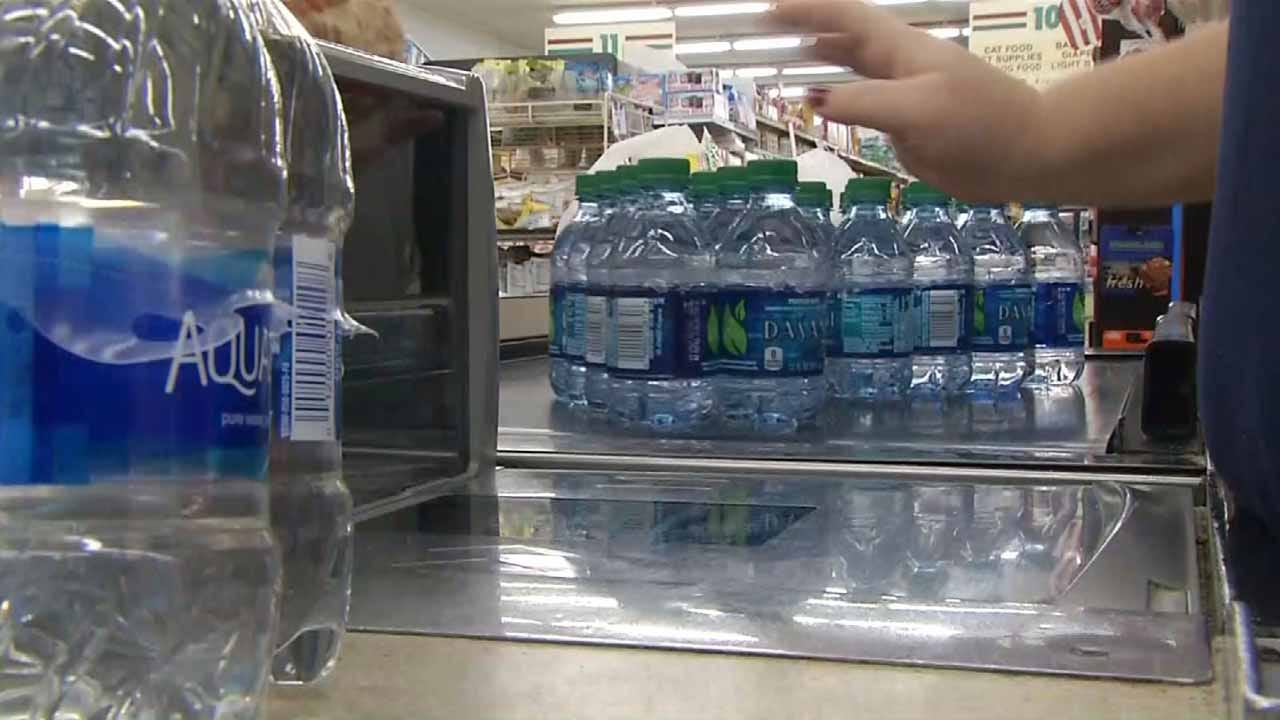 Sand Springs ECEC Collecting Bottled Water For Harvey Victims