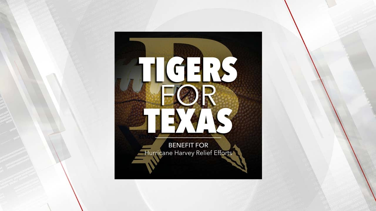 'Tigers For Texas' Donations Being Taken At Friday's Football Game