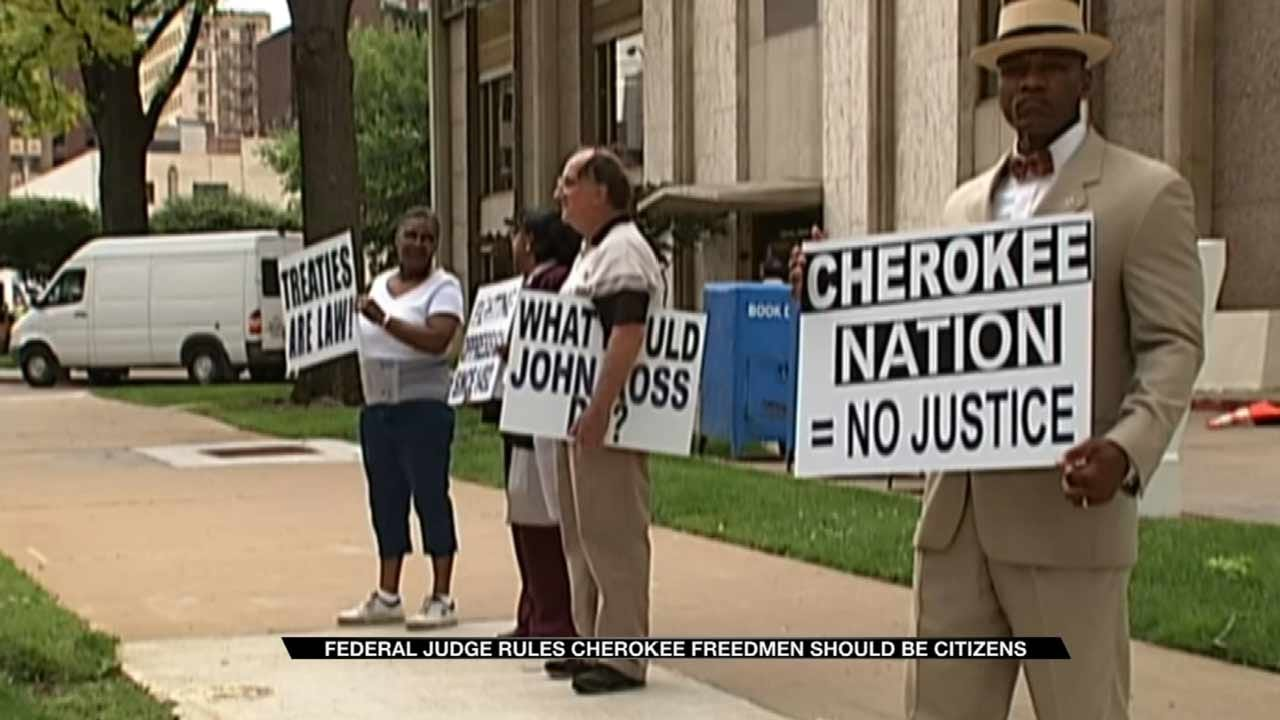 Cherokee Freedmen Descendants Win Right To Tribal Membership
