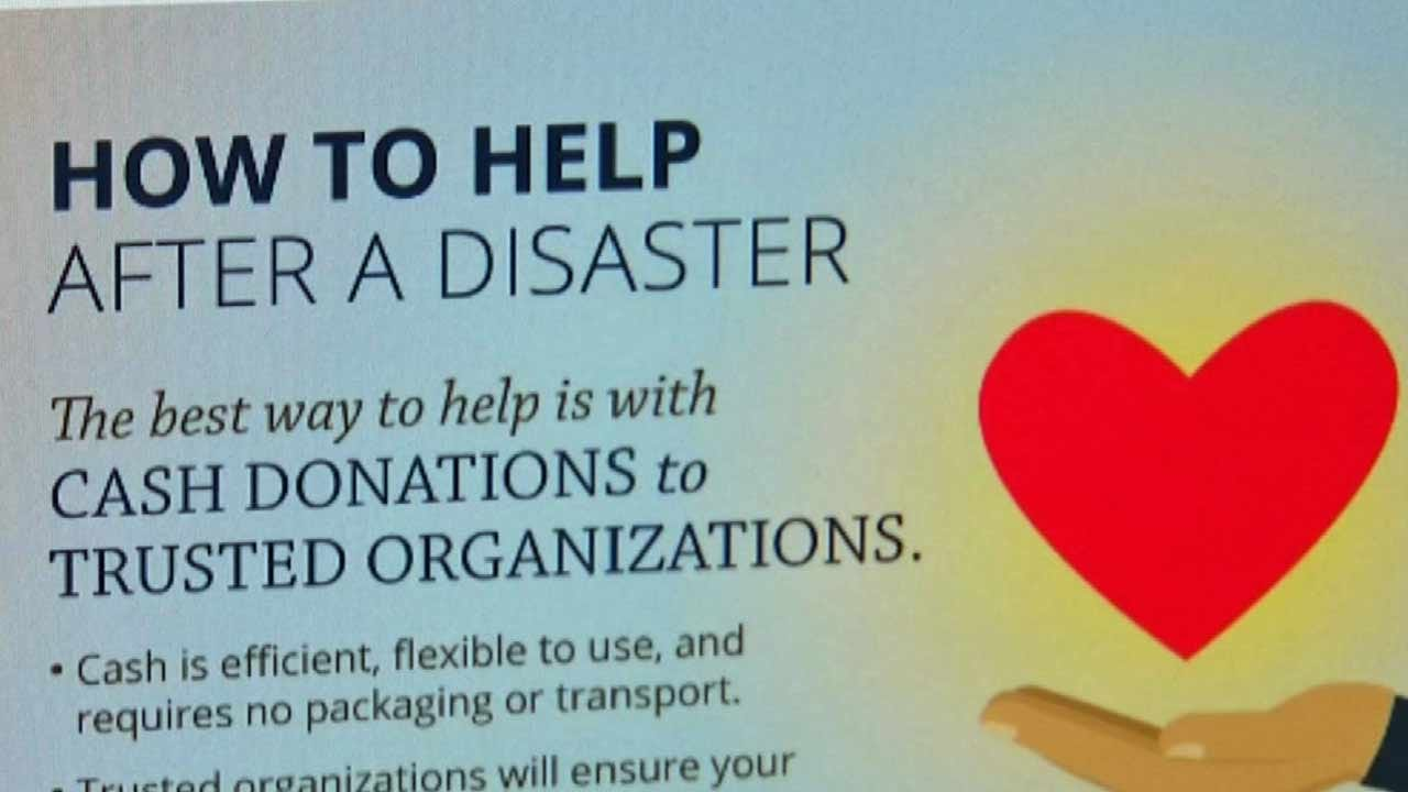 Experts: Cash Is Best Way To Give After A Disaster Like Hurricane Harvey