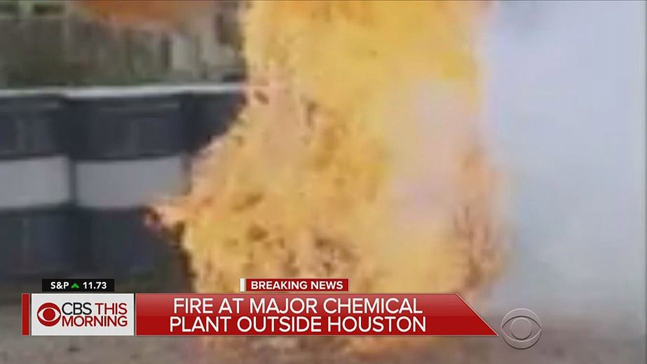 """Fire Breaks Out At Harvey-Hit Chemical Plant Amid """"Small Explosions,"""" Official Says"""