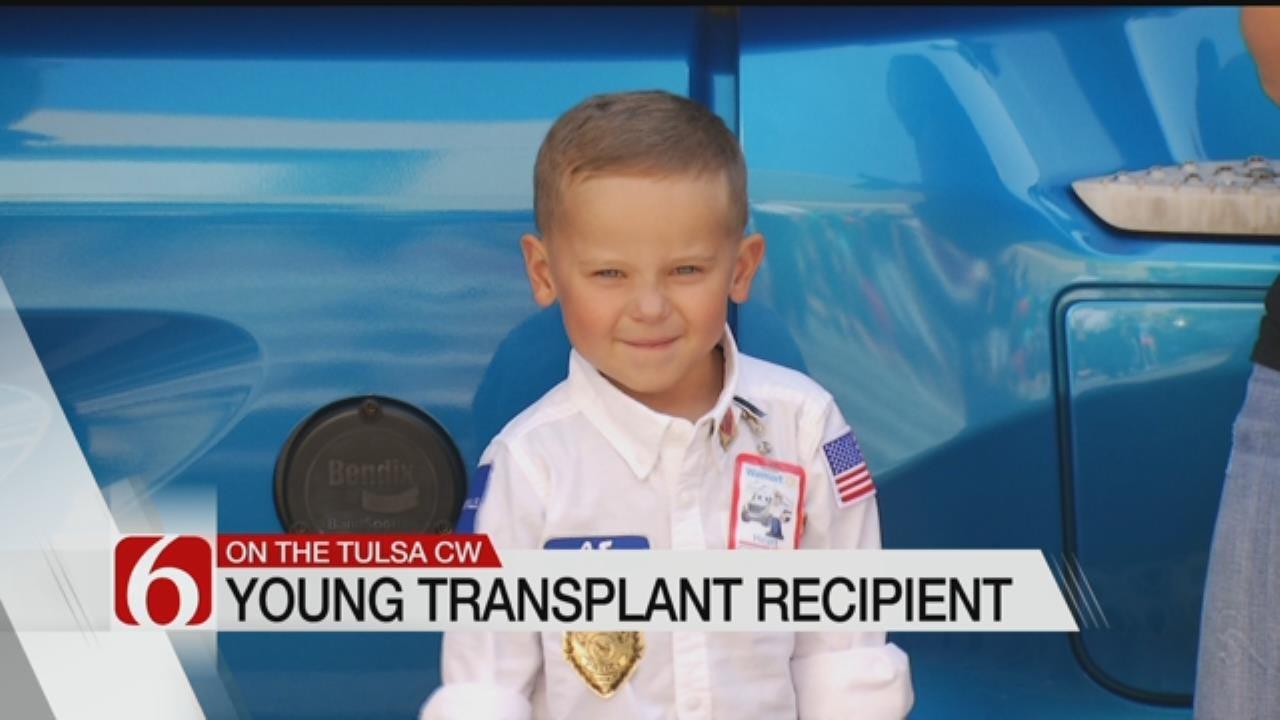 Four-Year-Old Heart Patient Gets Big Send Off In Broken Arrow