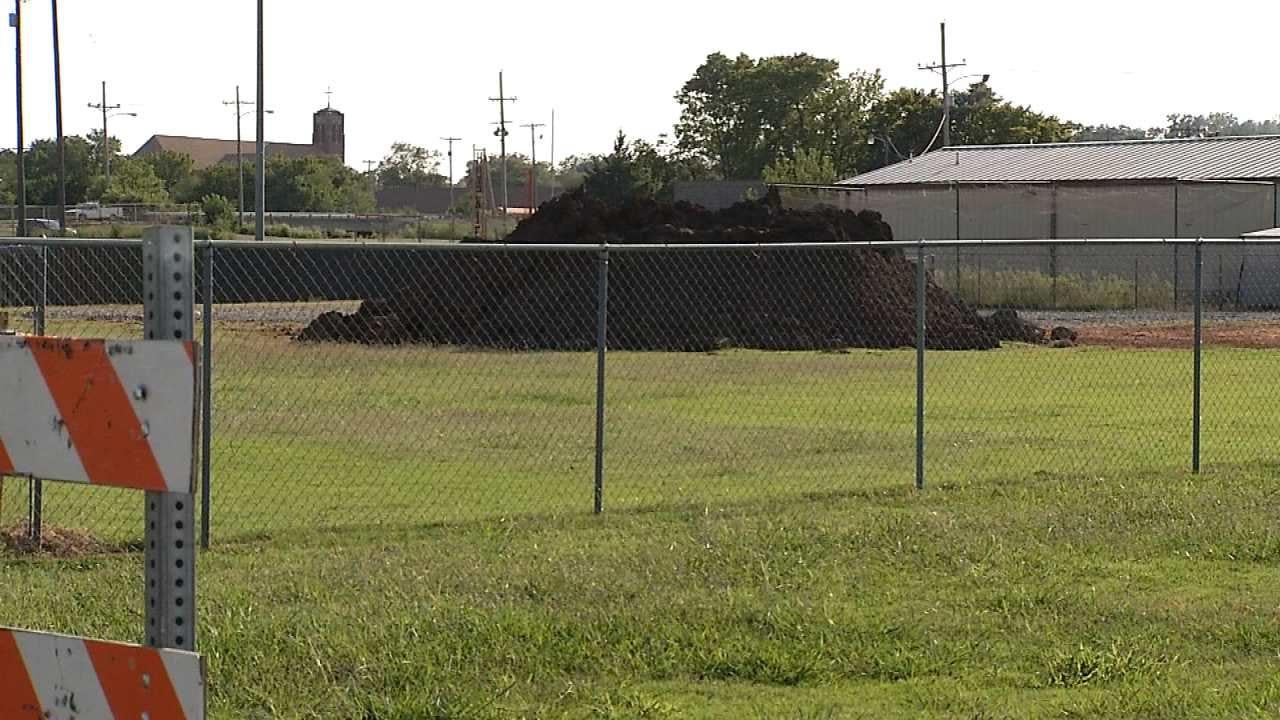 Gas From Old Well Closes Pawhuska School's Softball Field