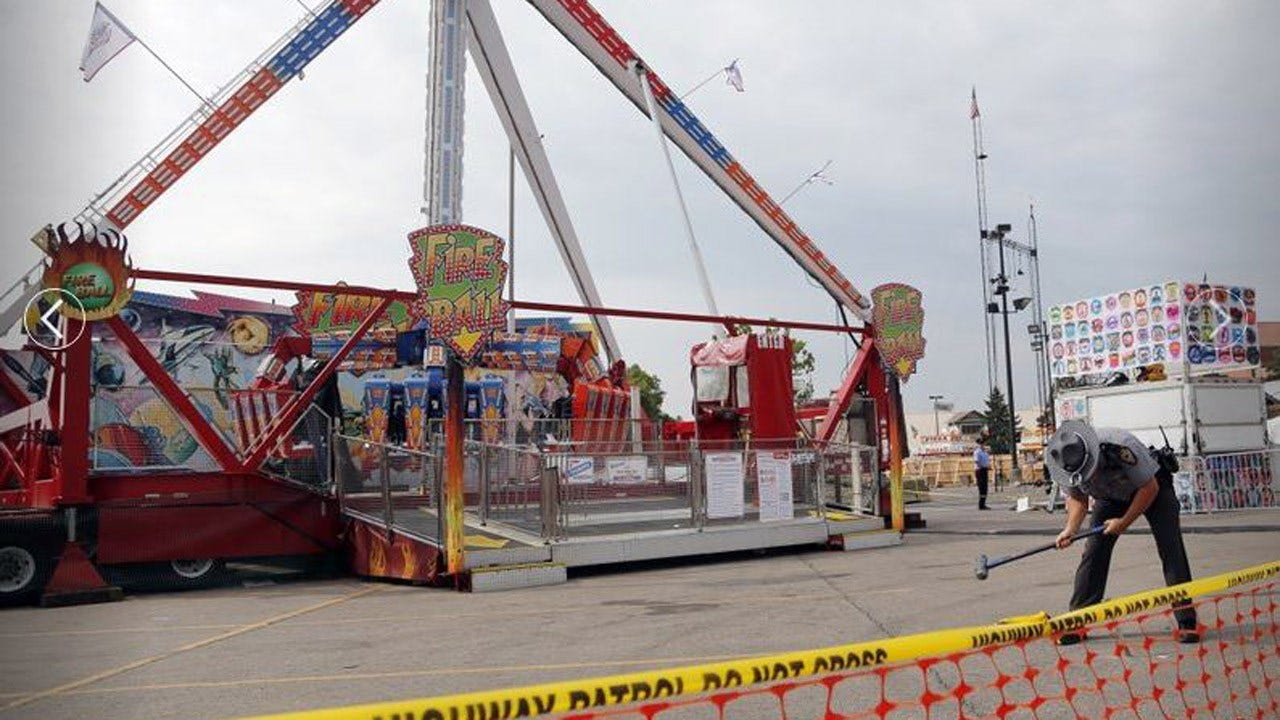 No Charges Filed In Deadly Thrill Ride Accident At Ohio Fair