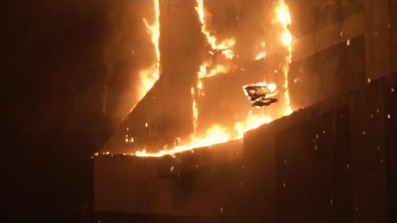 Fire Engulfs Dubai's Torch Residential Tower