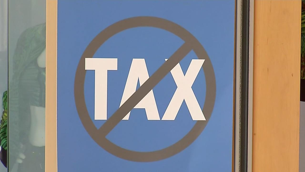 Oklahoma's Sales Tax Holiday Weekend Underway