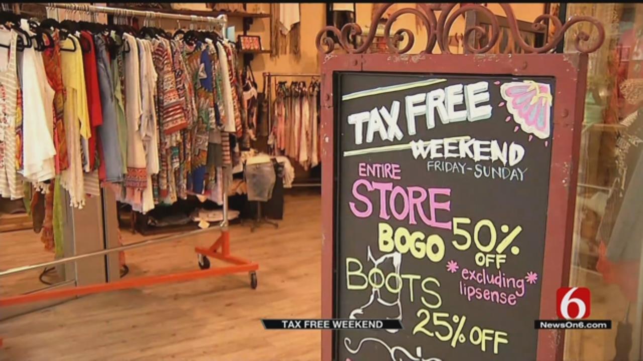 Oklahoma's Tax-Free Shopping Weekend Kicks Off
