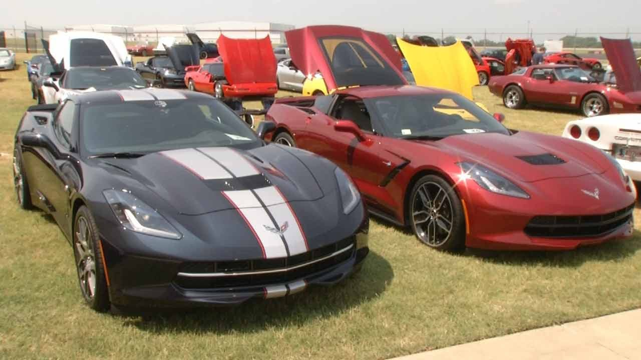 Vettes And Jets Take Center Stage In Tulsa