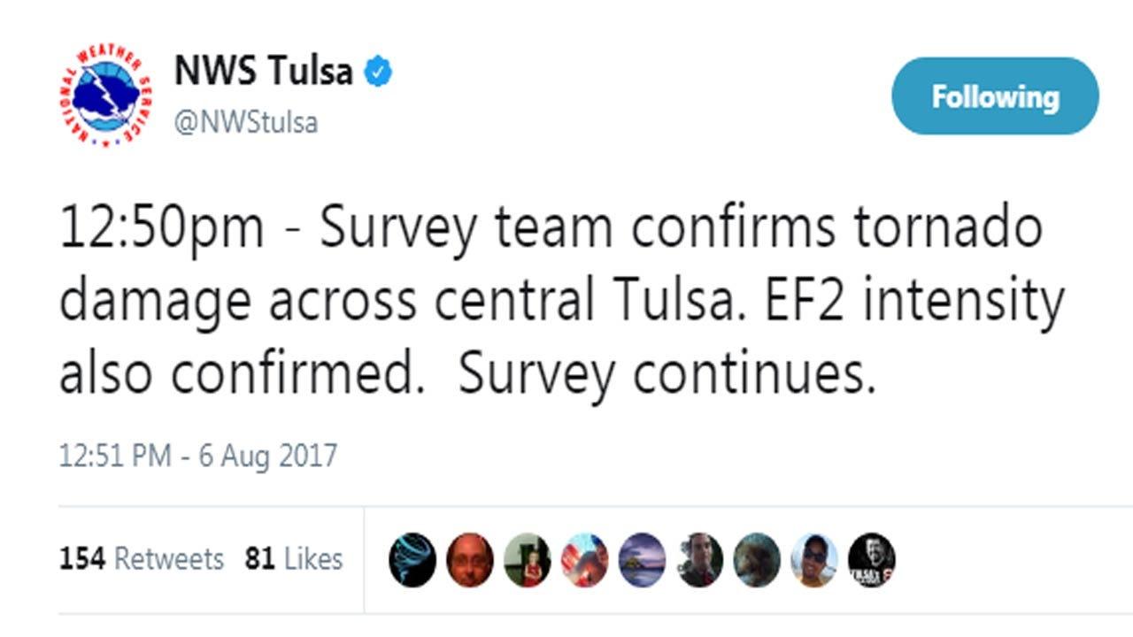 EF2 Tornado Damage Confirmed, Siren Issue Addressed