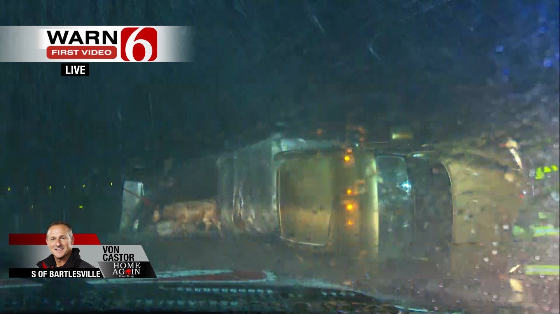 News On 6 Storm Tracker Helps Rescue Cattle, Horses Near Bartlesville