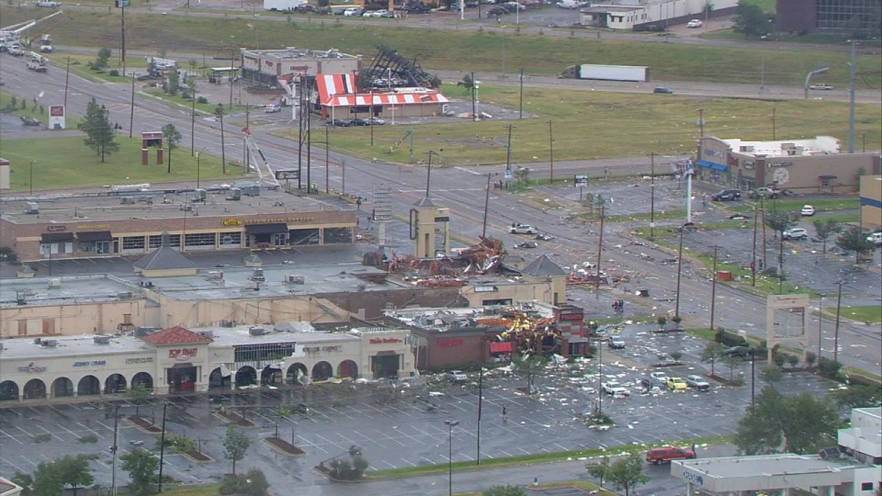 Tulsa Police Focus On Repairing Areas Hit Hardest By Storms