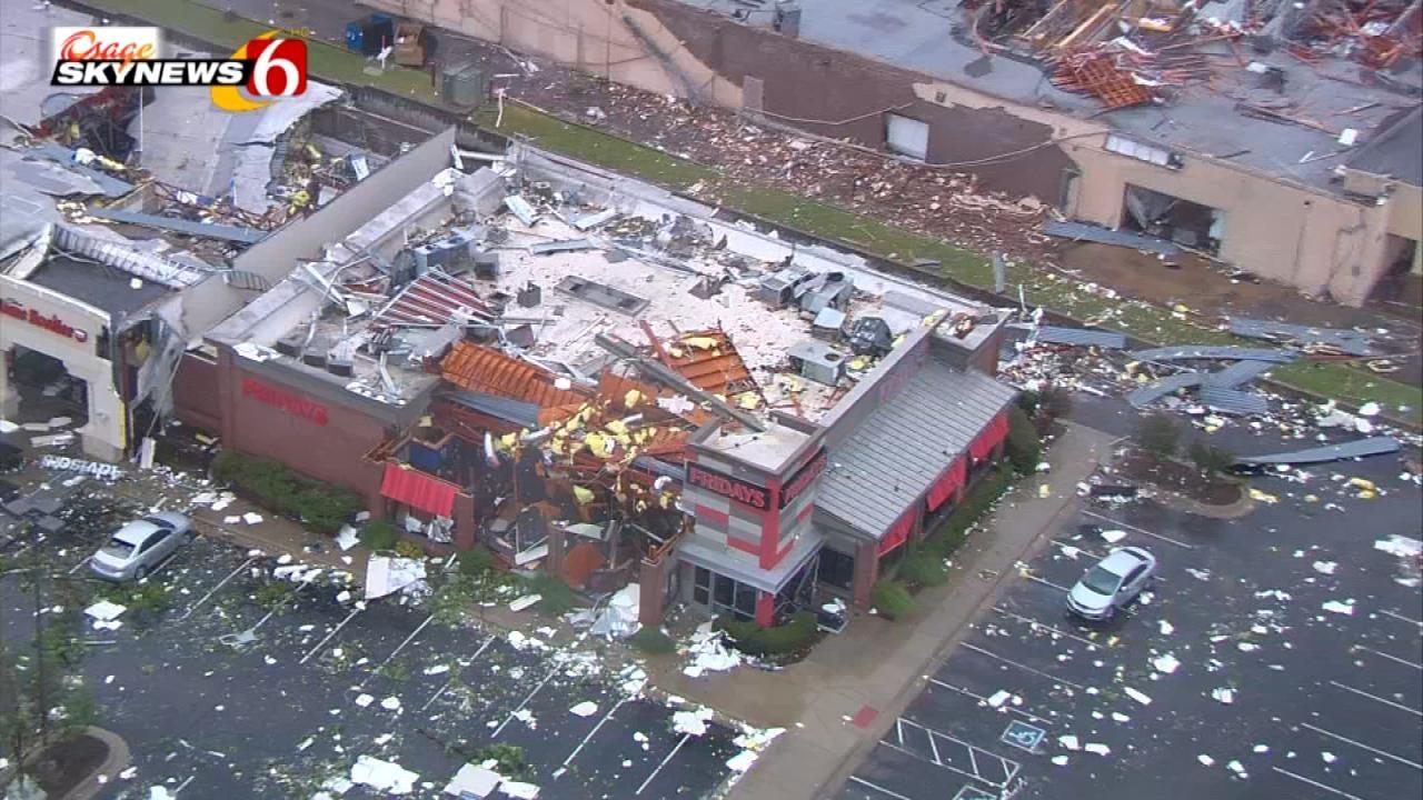 30 People Treated At Tulsa Hospital After Tornado