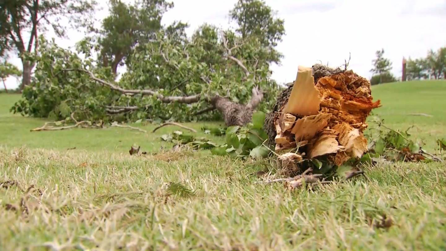 BA Golf Club Works To Clean Up After Tornado