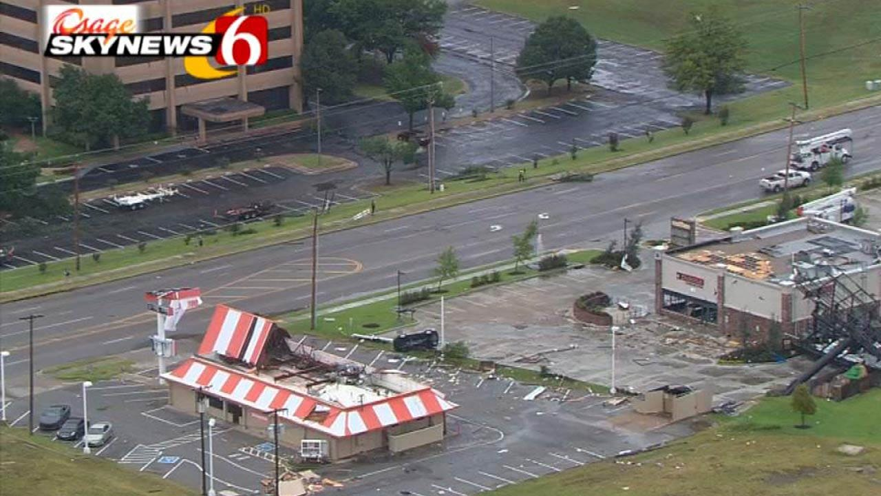 Tulsa Whataburger Working To Reopen, Help Employees Impacted By Storm