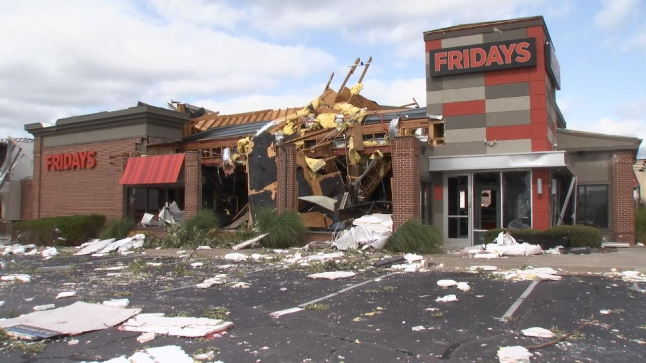 Tulsa Woman Recalls Moments Tornado Struck TGI Fridays