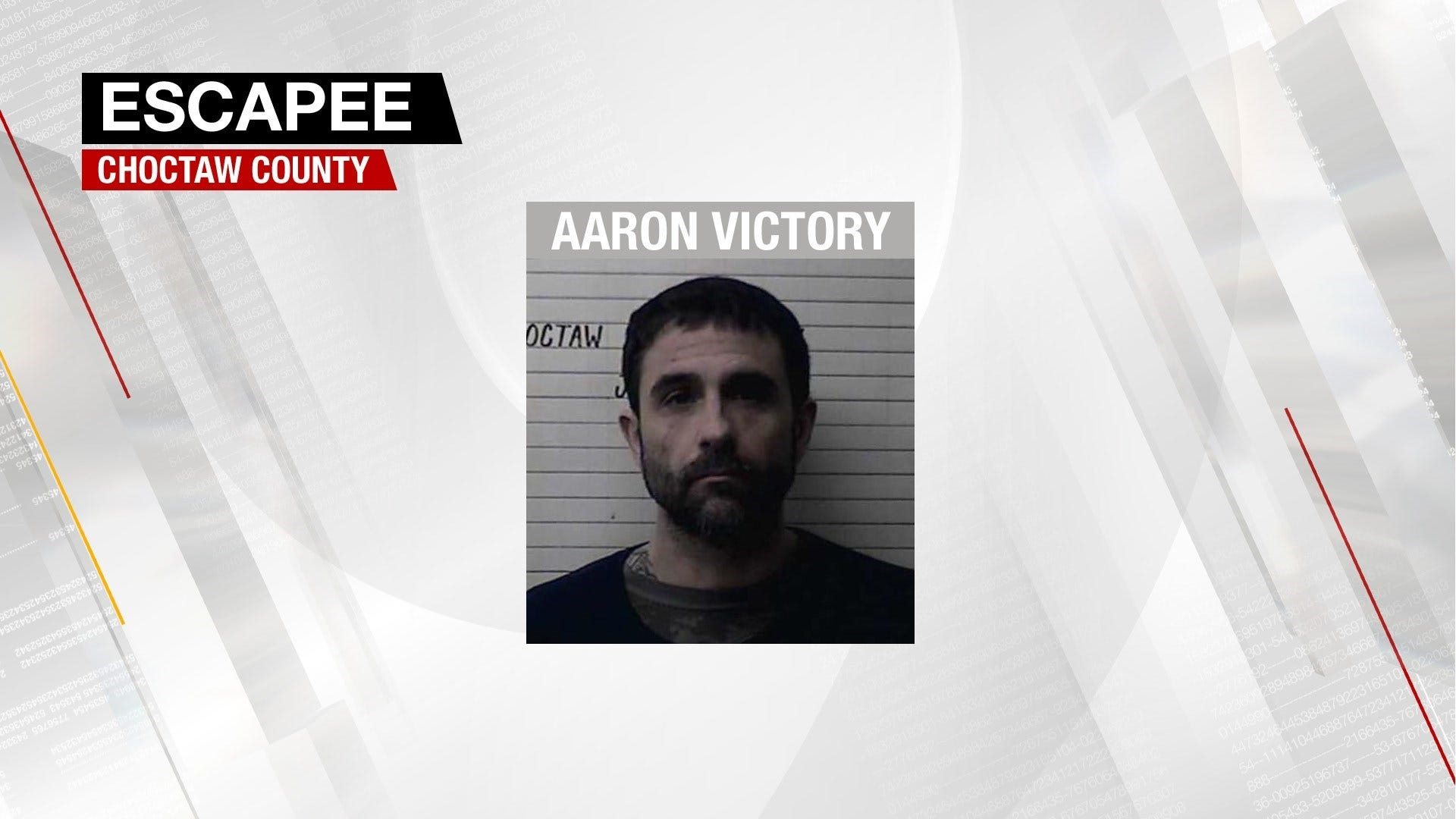 Federal Inmate Escapes From Choctaw County Jail
