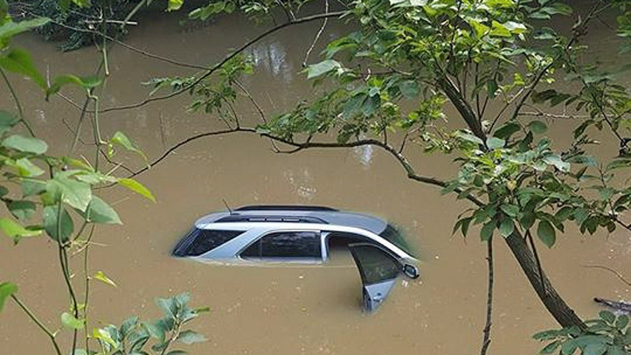 Latimer County Woman Rescued From Submerged Vehicle
