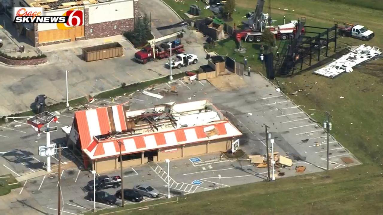 Longtime Friends Survive Tulsa Tornado At Whataburger