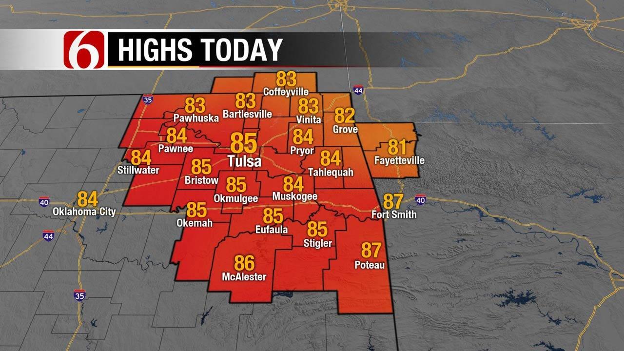Rain Returning To Eastern Oklahoma