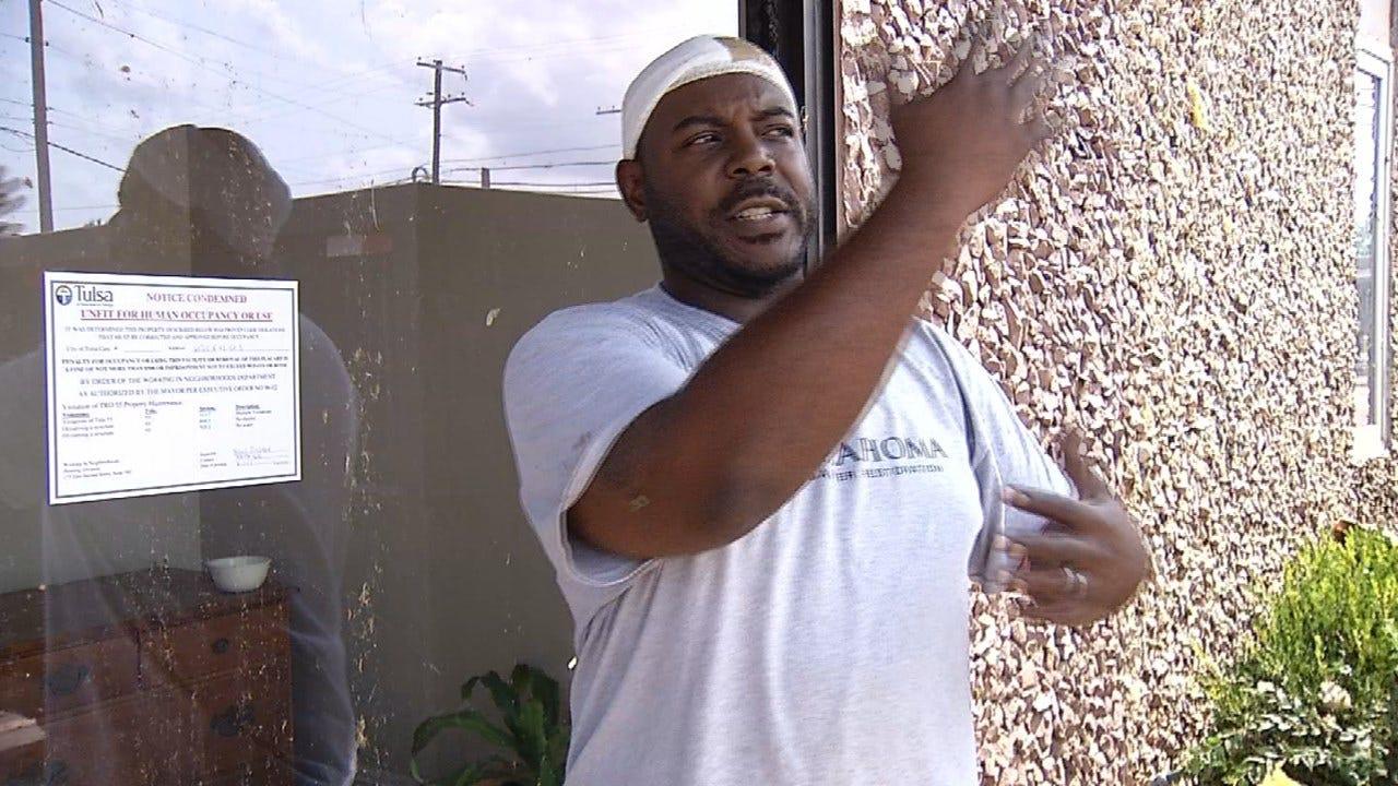 Tulsa Worker Recounts Getting Caught In EF-2 Tornado