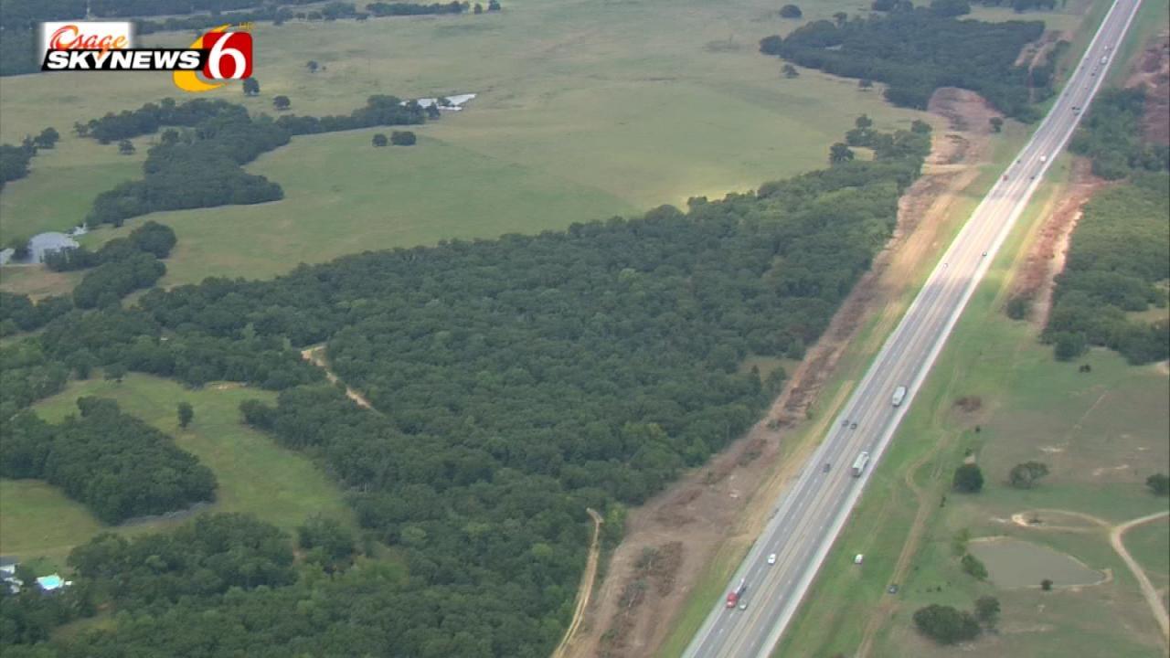 Work Begins On Widening Turner Turnpike West Of Tulsa