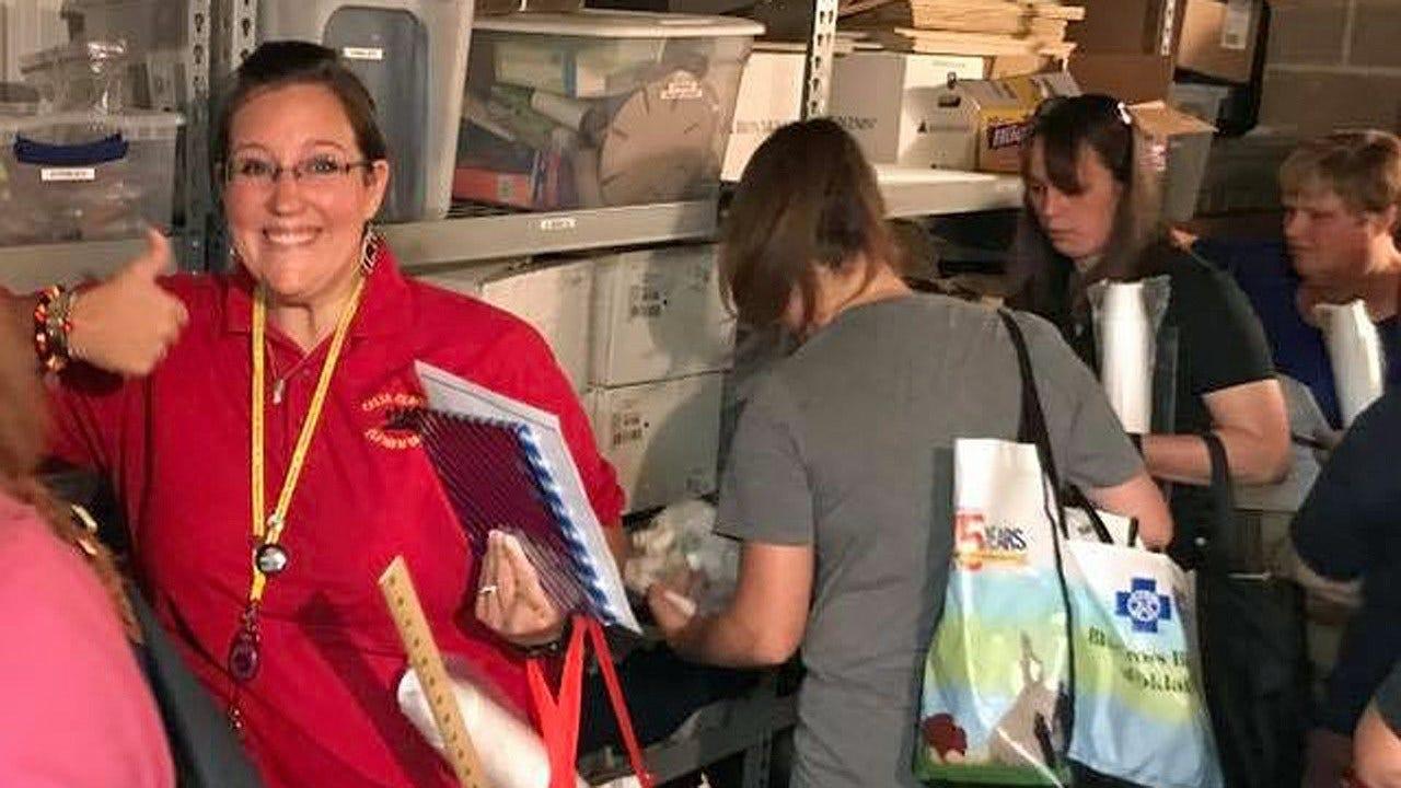 Tulsa Teachers Get Free Classroom Supplies From STEM Shoppe