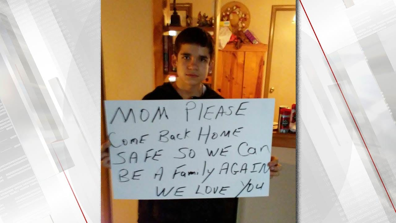 Son Of Missing McAlester Woman Asks Her To Come Home