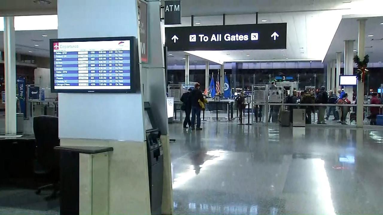 Tulsa International Airport Holds Disaster Drill