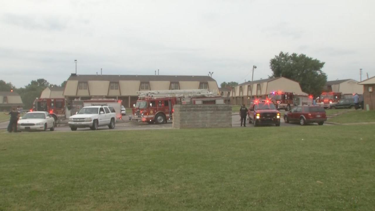 Arson Fire, Machete Attack At Tulsa Apartment Complex Under Investigation