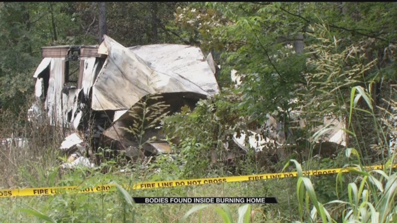 Two Men Arrested, Released After Bodies Found In Wagoner County Mobile Home Fire