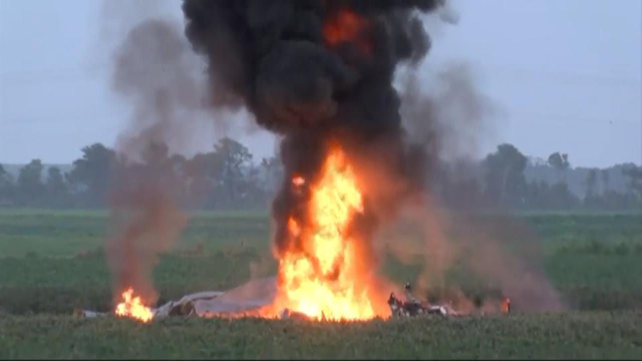 Authorities: 16 Killed In Military Plane Crash In Mississippi