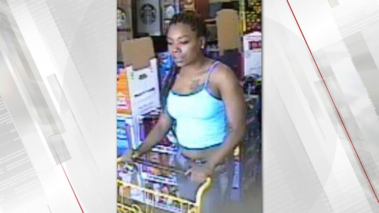 Person Of Interest Sought In Tulsa Store Larceny