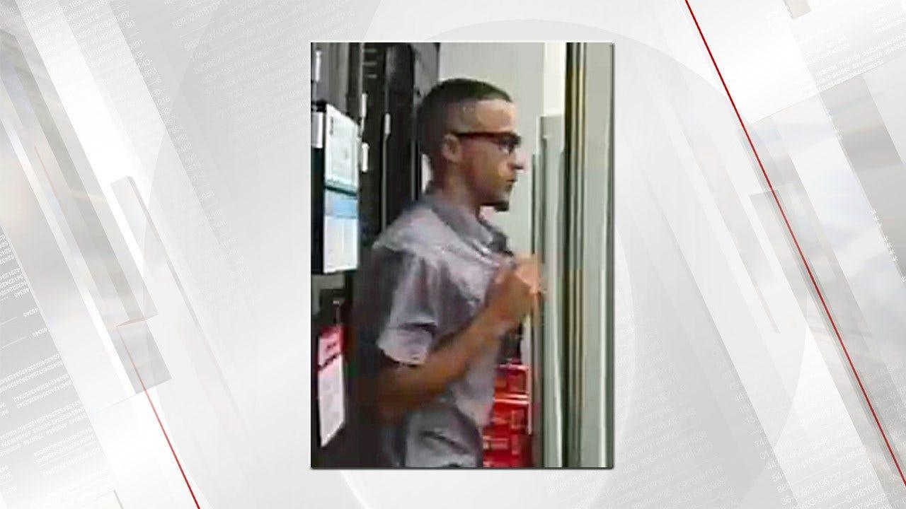 Tulsa Police Seeks Man Suspected Of Using Stolen Credit Card