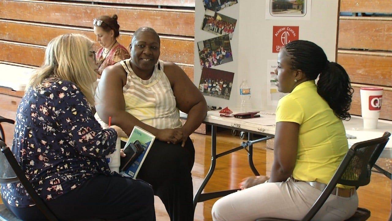 Tulsa Public Schools Holds Career Fair, Looks To Hire Teachers