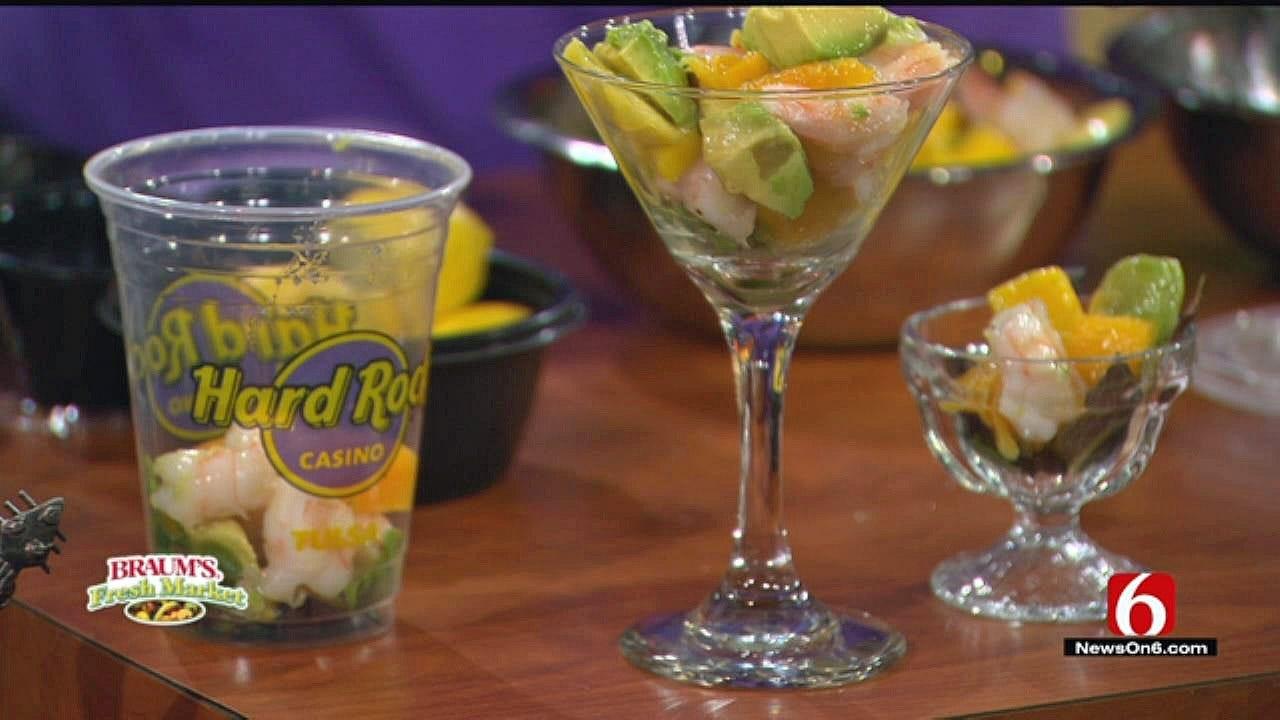 Baja Shrimp And Mango Chill Cup