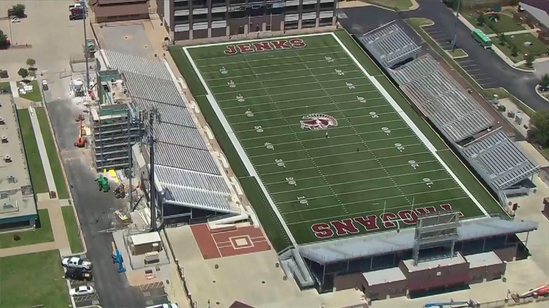 Jenks Upgrading Football Facilities