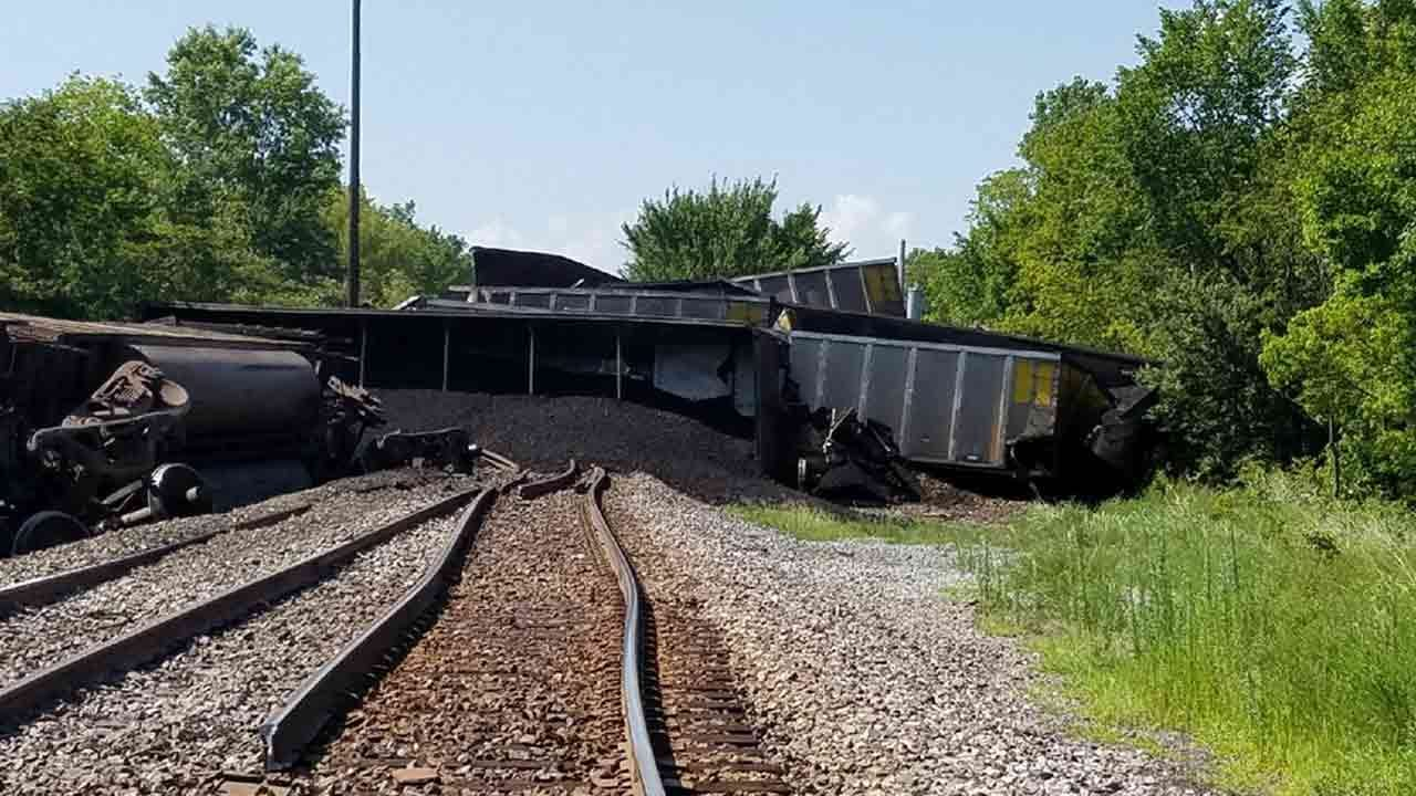 Union Pacific: Wagoner County Train Derailment To Be Cleared Soon