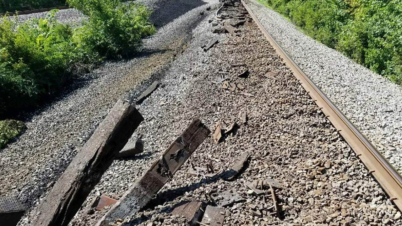 Tracks Reopened Two Days After Train Derailment At Okay