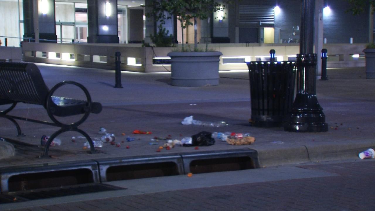 Vandalism Spree Leads To Tulsa Woman's Arrest