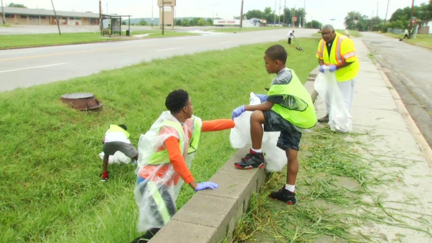 Residents Working To Clean Up North Tulsa Neighborhood