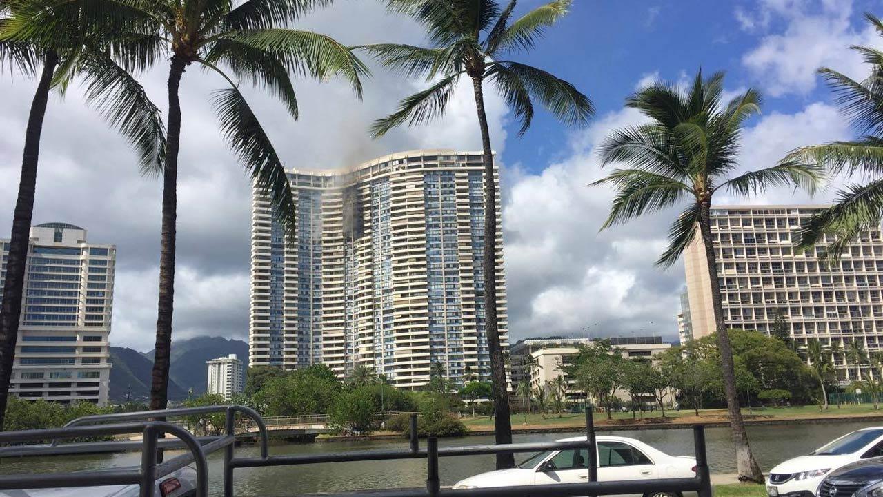 Three Dead In Hawaii High-Rise Fire