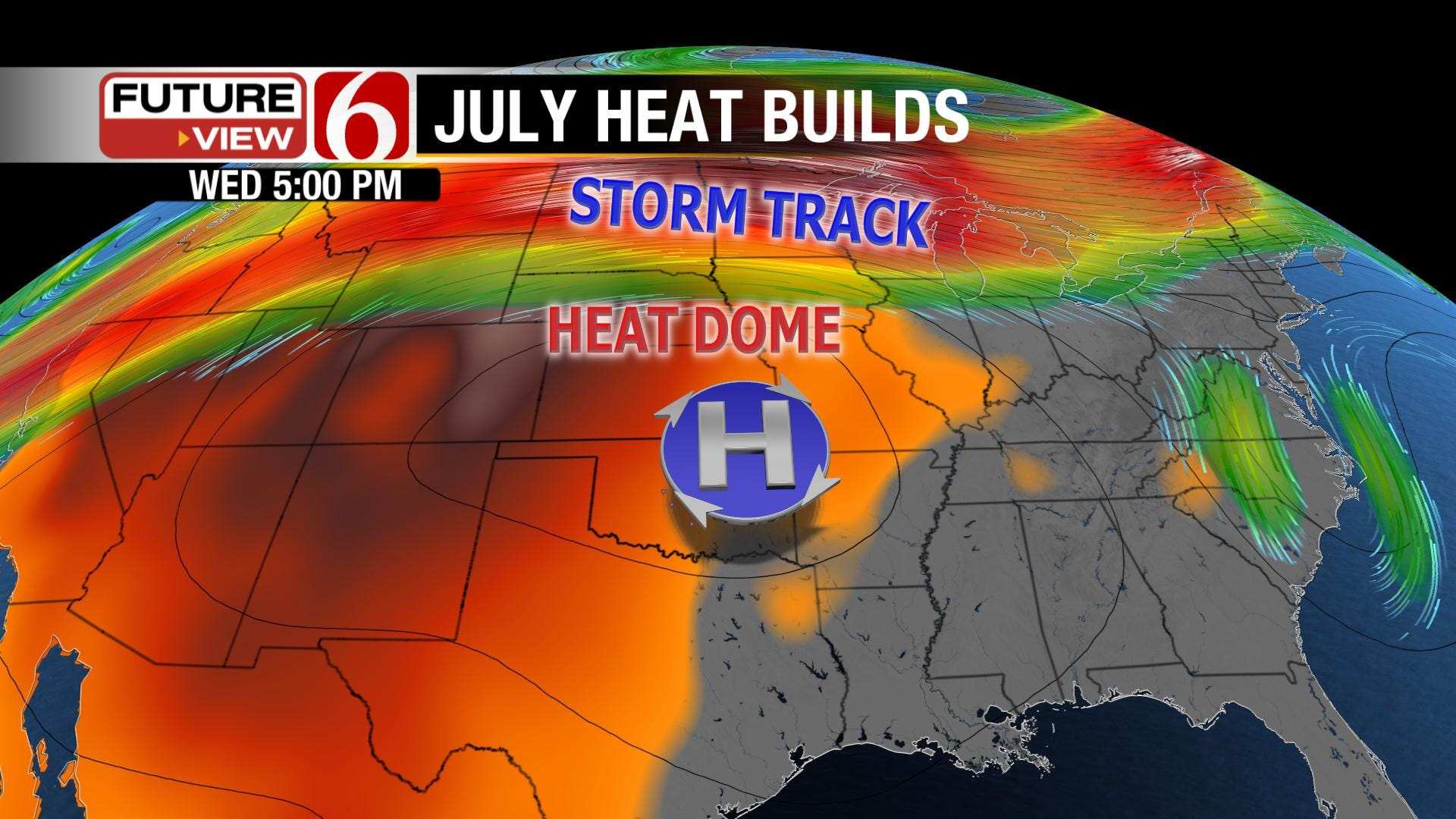 Another Heat Wave Building in Oklahoma