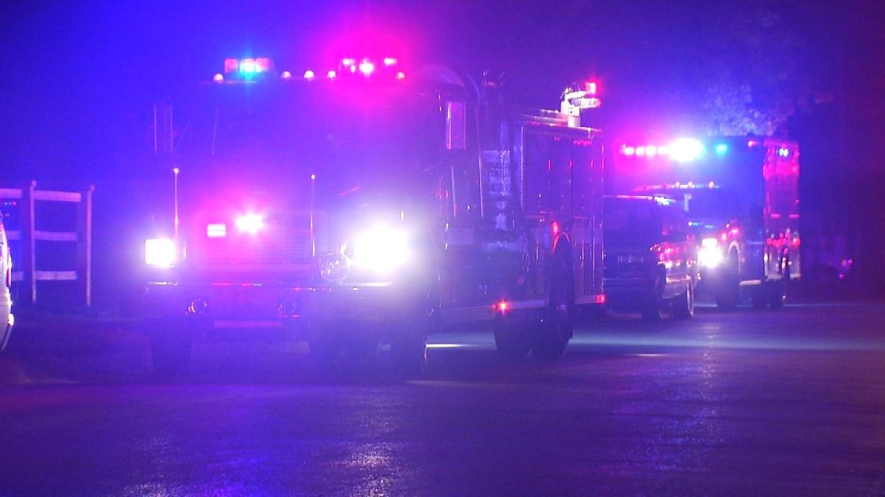 No One Found Inside A Burning Tulsa Home Overnight