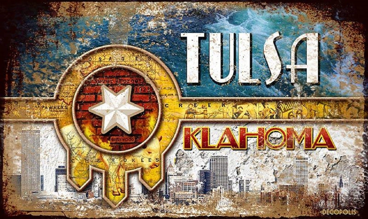 Downtown Tulsa Store Creates Alternative Design For City's Flag