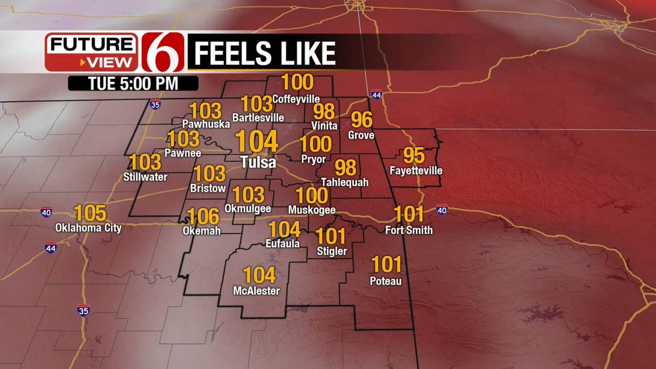Heat Wave Continues To Build Across Oklahoma